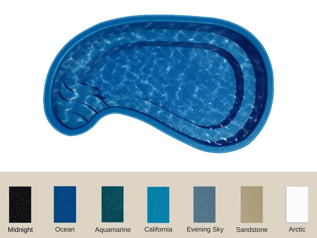fiberglass pools in Burnet